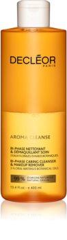 Decléor Aroma Cleanse removedor de maquilhagem bifásico para rosto e olhos