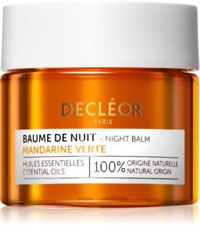 Decléor Mandarine Verte Baume de Nuit crème de nuit antioxydante aux vitamines