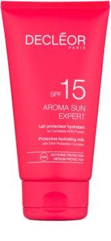 Decléor Aroma Sun Expert hydratisierende Sonnenmilch LSF 15