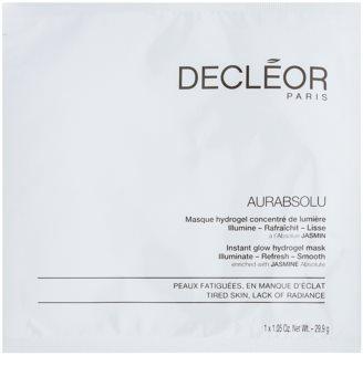 Decléor Aurabsolu mascarilla de hidrogel para iluminar y alisar la piel