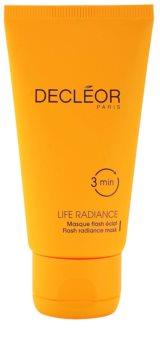 Decléor Life Radiance mascarilla iluminadora para todo tipo de pieles