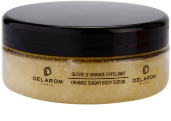 Delarom Body Care exfoliante corporal naranja