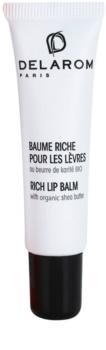 Delarom Essential bálsamo labial con manteca de karité biológica