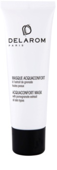 Delarom Moisturizing máscara facial hidratante com extrato de romã