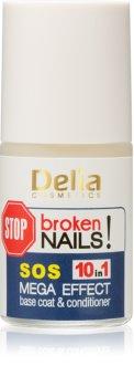 Delia Cosmetics Coral profesionální péče na nehty 10 v 1
