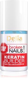 Delia Cosmetics STOP broken nails! Nährende Keratinpflege für geschwächte Nägel