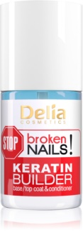 Delia Cosmetics STOP broken nails! φροντίδα κερατίνης για θρέψη των εξασθενημένων νυχιών