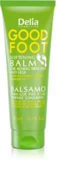 Delia Cosmetics Good Foot Softening Rauhoittava Balsami Jaloille