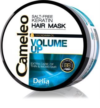 Delia Cosmetics Cameleo BB keratinová maska pro jemné a zplihlé vlasy