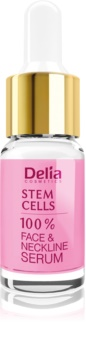 Delia Cosmetics Professional Face Care Stem Cells εντατικά συσφικτικός και αντιρυτιδιακός ορός με βλαστικά κύτταρα Για πρόσωπο, λαιμό και ντεκολτέ
