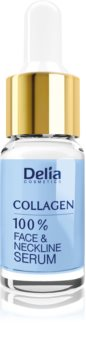 Delia Cosmetics Professional Face Care Collagen Intense Anti-Wrinkle Moisturising Serum for Face, Neck and Chest