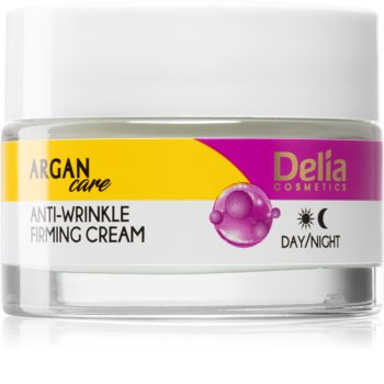 Delia Cosmetics Argan Care Firming Cream with Anti-Wrinkle Effect