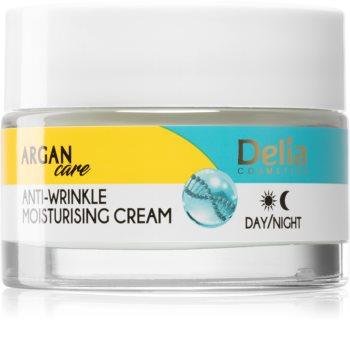 Delia Cosmetics Argan Care Dybt fugtgivende creme med anti-rynkeeffekt
