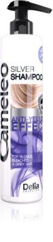 Delia Cosmetics Cameleo Silver szampon neutralizująca żółtawe odcienie