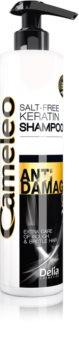 Delia Cosmetics Cameleo BB кератинов шампоан за увредена коса