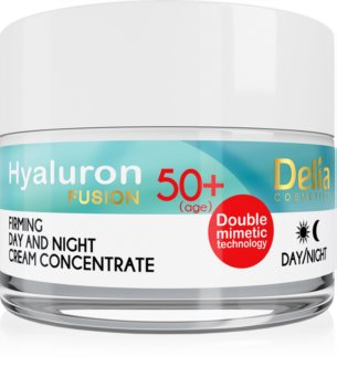Delia Cosmetics Hyaluron Fusion 50+ зміцнюючий крем проти зморшок