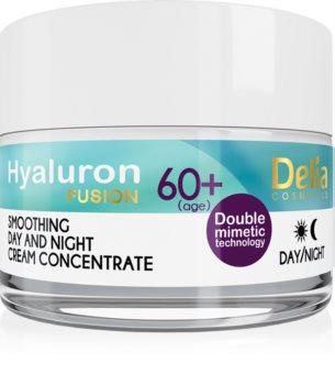 Delia Cosmetics Hyaluron Fusion 60+ crema antiarrugas para renovar la densidad de la piel