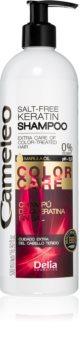 Delia Cosmetics Cameleo BB keratin sampon festett vagy melírozott hajra