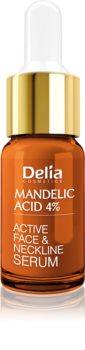 Delia Cosmetics Professional Face Care Mandelic Acid kisimító szérum mandula savval arcra, nyakra és dekoltázsra