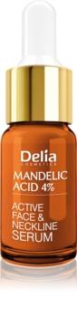 Delia Cosmetics Professional Face Care Mandelic Acid Udglattende mandeling syre serum til ansigt, hals og bryst