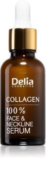 Delia Cosmetics Collagen siero di collagene al 100% per viso e décolleté