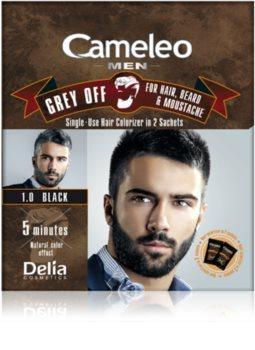 Delia Cosmetics Cameleo Men Kertakäyttö Väriaine Välittömään Harmaan Peittämiseen