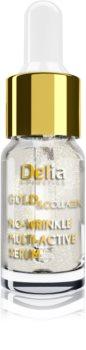 Delia Cosmetics Gold & Collagen Rich Care élénkitő szérum a ráncok ellen