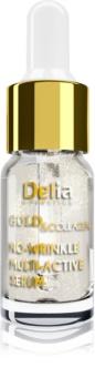 Delia Cosmetics Gold & Collagen Rich Care озаряващ серум против бръчки