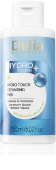 Delia Cosmetics Hydro Fusion + delikatne mleczko oczyszczające