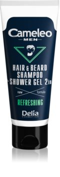 Delia Cosmetics Cameleo Men Shampoo and Body Wash for Hair, Beard and Body