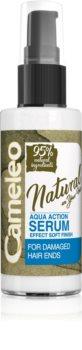 Delia Cosmetics Cameleo Natural Serum för hår för kluvna hårtoppar