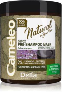 Delia Cosmetics Cameleo Natural pred-šampónová starostlivosť pre mastné vlasy