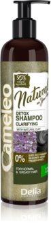 Delia Cosmetics Cameleo Natural Reinigende Shampoo  voor Vet Haar