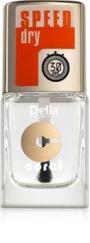 Delia Cosmetics Speed Dry top coat per unghie per accelerare l'asciugatura dello smalto