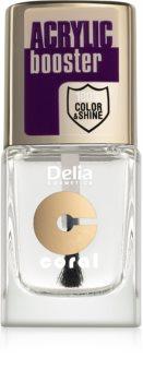 Delia Cosmetics Acrylic Booster vrchní lak na nehty s dlouhotrvajícím účinkem