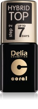 Delia Cosmetics Hybrid Gel vernis top coat gel