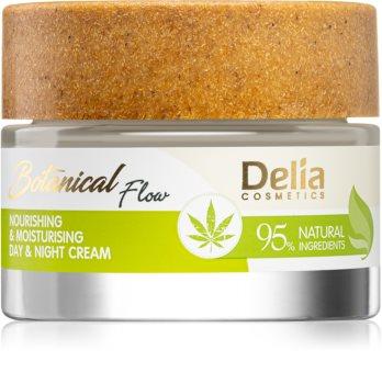 Delia Cosmetics Botanical Flow Hemp Oil подхранващ хидратиращ крем