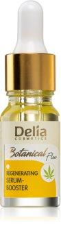 Delia Cosmetics Botanical Flow Hemp Oil regenerierendes Serum für trockene bis empfindliche Haut