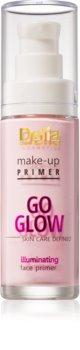 Delia Cosmetics Skin Care Defined Go Glow podkladová báze pro rozjasnění a sjednocení pleti