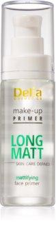 Delia Cosmetics Skin Care Defined Long Matt prebase de maquillaje de acabado mate