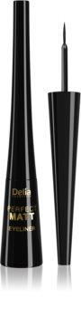 Delia Cosmetics Perfect Matt Shape Master eyeliner liquide effet mat