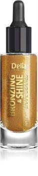 Delia Cosmetics Bronzing & Shine Shape Defined bleščeče suho olje za obraz in telo
