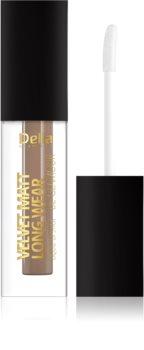 Delia Cosmetics Velvet Matt Long Wear Be Glamour ruj cu persistență îndelungată cu efect mat