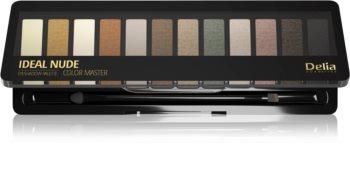 Delia Cosmetics Ideal Nude Color Master paletka očních stínů