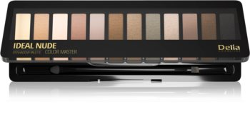 Delia Cosmetics Ideal Nude Color Master палитра сенки за очи