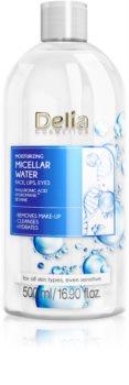 Delia Cosmetics Micellar Water Hyaluronic Acid зволожуюча міцелярна вода