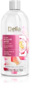 Delia Cosmetics Micellar Water Rose Petals Extract успокояваща почистваща мицеларна вода