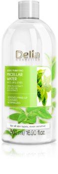 Delia Cosmetics Micellar Water Green Tea orzeźwiający oczyszczający płyn micelarny