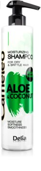 Delia Cosmetics Cameleo Aloe & Coconut vlažilni šampon za suhe in krhke lase