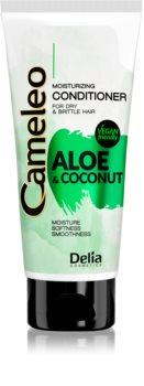 Delia Cosmetics Cameleo Aloe & Coconut feuchtigkeitsspendender Conditioner für trockenes und zerbrechliches Haar